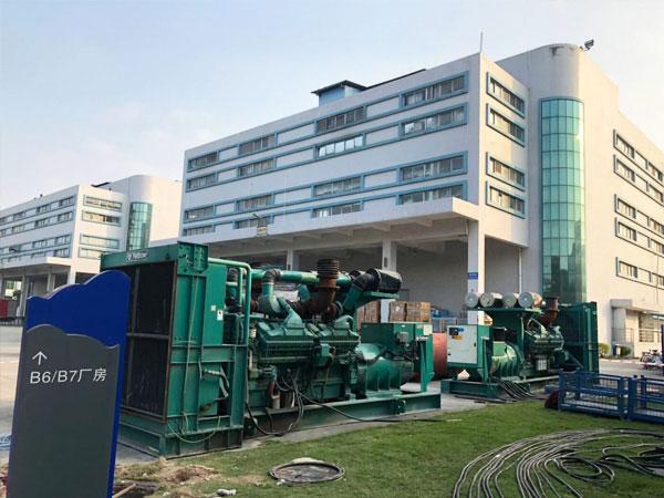 连云港某电子厂出租两台800KW康明斯发电